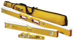 "Stabila Masons Level Set - 48"", 24"", Torpedo Level W/Case (48196)"