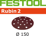 Festool Rubin 2 | 150 Round | 120 Grit | Pack of 50 (499121)