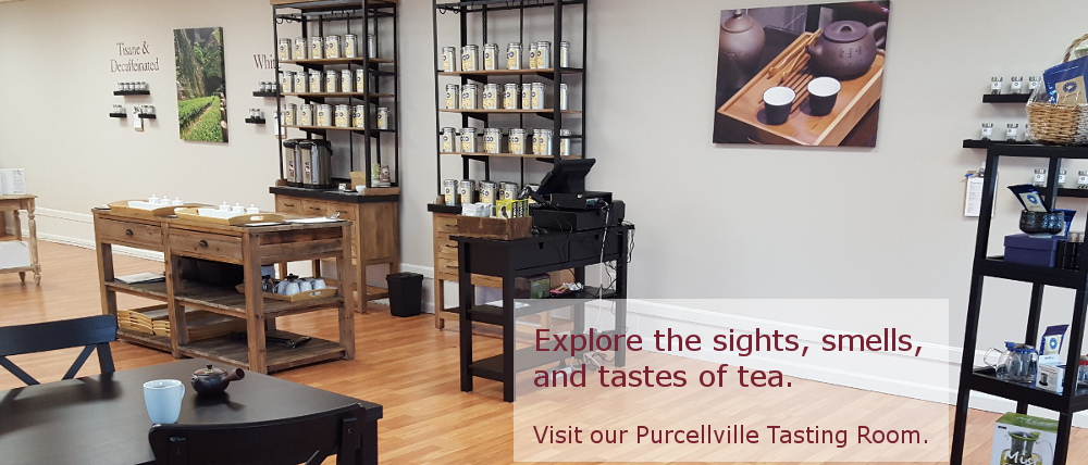 Dominion Tea Purcellville Virginia Tasting Room