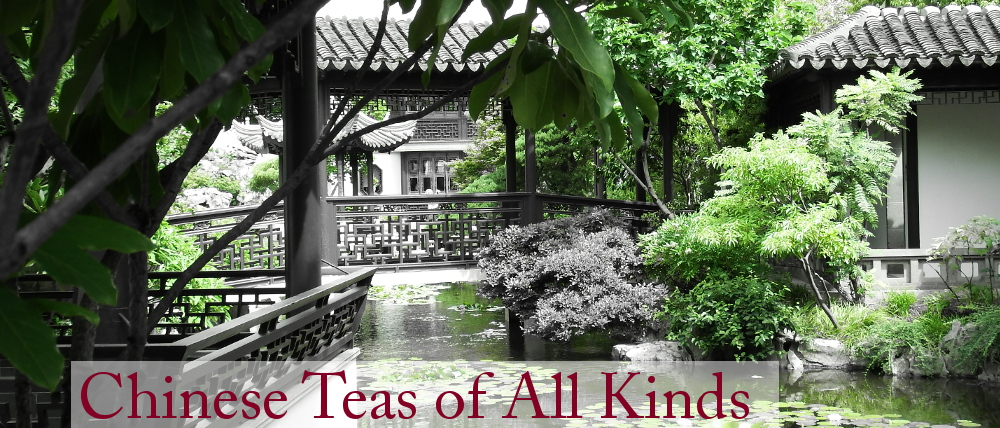 Chinese Tea - White, Yellow, Oolong, Black, and Pu'erh