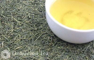 Organic Sencha Loose Leaf Green Tea and Liquor | Dominion Tea