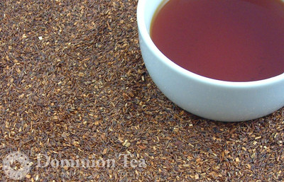 Rooibos Tisane Dry Leaf and Liquor