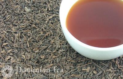 Hazelnut Puerh - Loose Leaf and Liquor | Dominion Tea