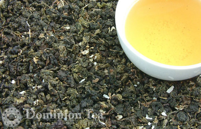 Coconut Oolong - Loose Leaf and Infused Liquor