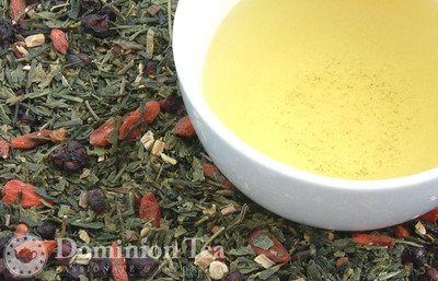 Hundred Year Tea Loose Leaf and Infused Liquor