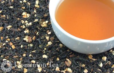 Pumpkin Spiced Chai Dry Leaf and Liquor