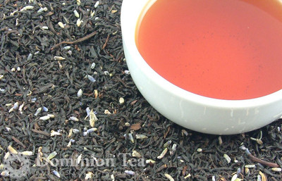 Earl Grey with Lavender Dry Leaf and Liquor
