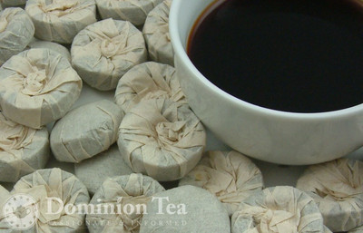 Puerh Tuo Cha Vintage Cakes and Liquor