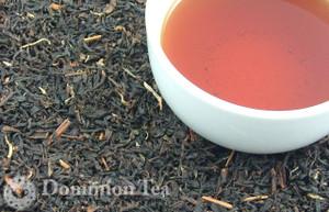 Vanilla Yunnan Organic Tea Dry Leaf and Liquor