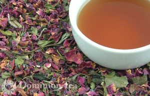 White Tapestry Tea Dry Leaf and Liquor