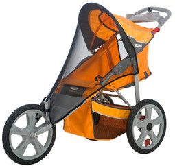 Bug Screen for Single Fixed Wheel Stroller