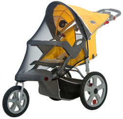 Bug Screen for Single Swivel Wheel Stroller
