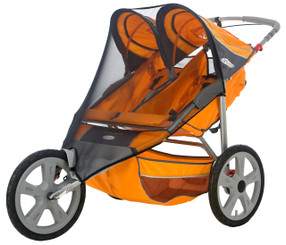 Bug Screen for Double Fixed Wheel Stroller