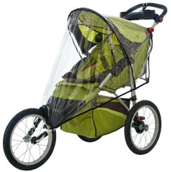Weathershield for Single Fixed Wheel Stroller