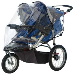Weathershield for Double Swivel Wheel Stroller