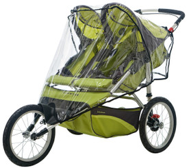 Weathershield for Double Fixed Wheel Stroller