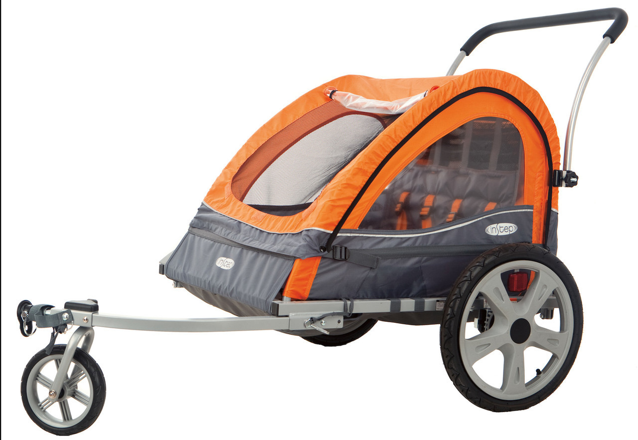 Quick N EZ Bicycle Trailer - Double - InStep