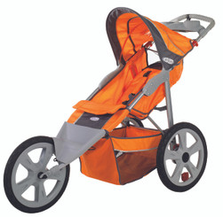 Flash Fixed Wheel Jogger - Orange