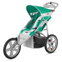Flash Fixed Wheel Jogger - Grass