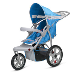 Safari Swivel Wheel Jogger - Blue