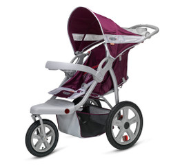 Safari Swivel Wheel Jogger - Wine