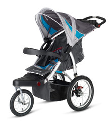 Schwinn Turismo Swivel Wheel Jogger - Blue
