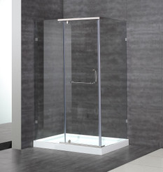 SEN975 Semi-Frameless Pivot Door Shower Enclosure