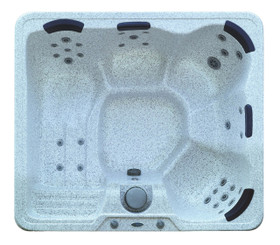 HT627 5-Person Hot Tub with Built-In Lounger and 32 Jets