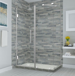 SEN967 BROMLEY Frameless Square | Rectangular Shower Enclosure with StarCast Coating