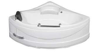 "MT618 59"" x 59"" Corner Whirlpool Tub"