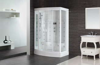 "ZA213 85"" Steam Shower with 24 Body Jets"
