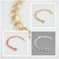 Your choice of gold plated, silver plated or copper plated