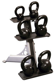 Body Solid Kettelbells with Rack GDKR50