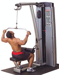 Body-Solid Pro Dual Lat & Mid Row Machine DLAT-SF