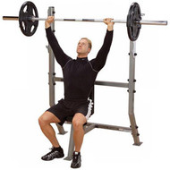 Body-Solid ProClub Shoulder Press Olympic Bench SPB368G