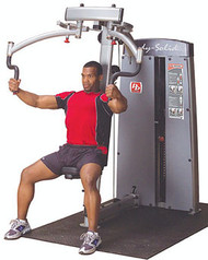 Body-Solid Pro Dual Pec & Rear Delt Machine DPEC-SF
