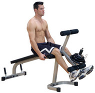 Body-Solid Powerline Leg Ext/Leg Curl Machine PLCE165X