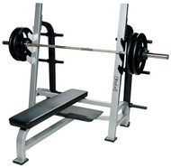 York ST Olympic Flat Bench w/Gun Racks   55041