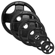 Body Solid 455# Rubber/Hand Grip Olympic Plates ORST455