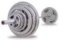 Body-Solid 500# Steel Grip Olympic Set OST500S
