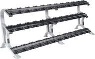 York ETS 3-Tier Dumbbell Saddle Rack (holds 18 pairs)    69047