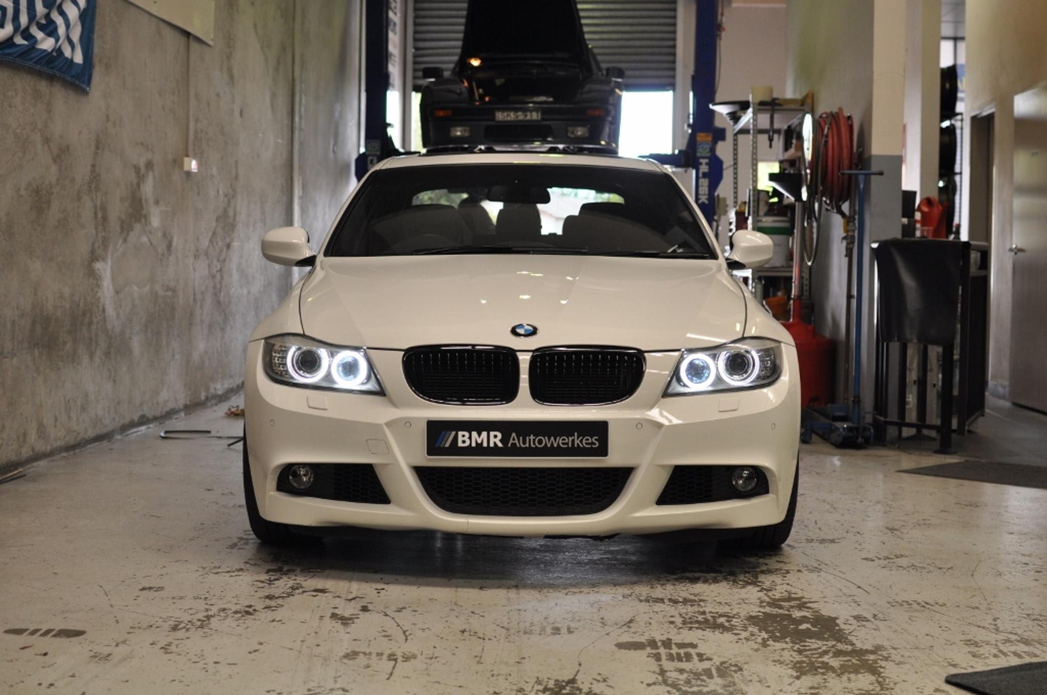 BMR H8 LED Angel Eyes