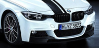 BMW M Performance Gloss Black Grilles (F30)
