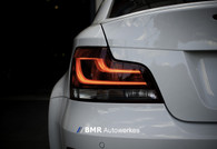 BMW 1-Series E82 Blackline LCI Taillights