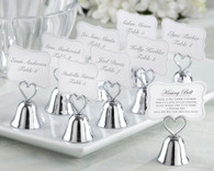 Wedding Gifts  - Kate Aspen Kissing Bell Place Card and Photo Holder