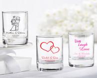 Bridal Shower Favors and Wedding Favors Canada - Kate Aspen Personalized Shot Glass/ Votive Holder