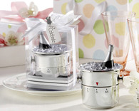 Unique Wedding Favors - Kate Aspen It's About Time! Let's Celebrate Champagne Bucket Timer