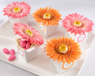 Wedding Favor Boxes and Personalized Wedding Favors - Kate Aspen Daisy Delight Gerbera Daisy Favor Box