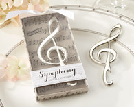 Wedding Favors Canada - Kate Aspen Symphony Chrome Music Note Bottle Opener. Bottle Openers to make your day special.