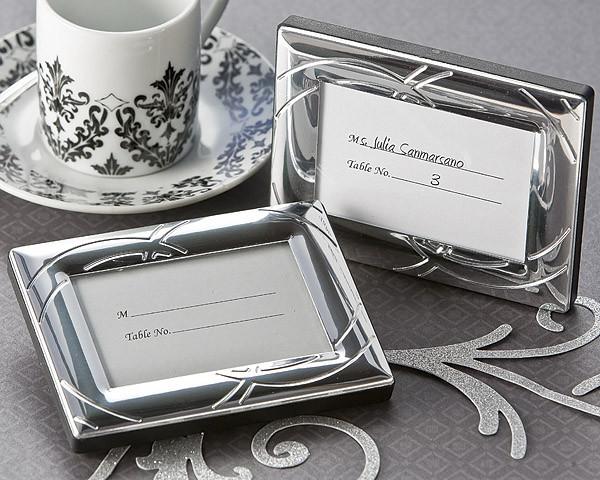 Cheap Wedding Favors - Double Ring Romance Mini Photo Frame / Place ...